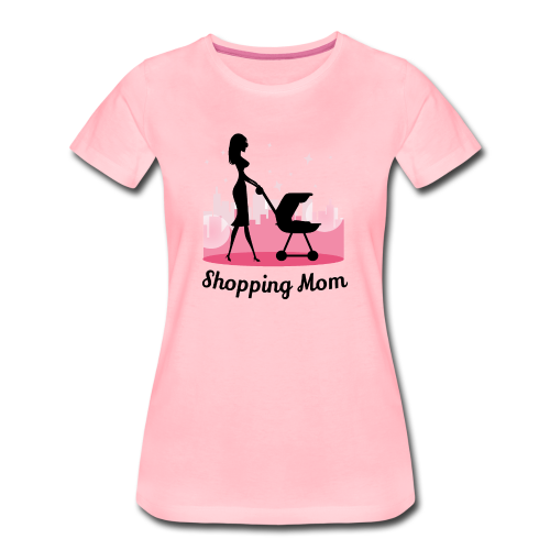 Shopping Mom - Frauen Premium T-Shirt