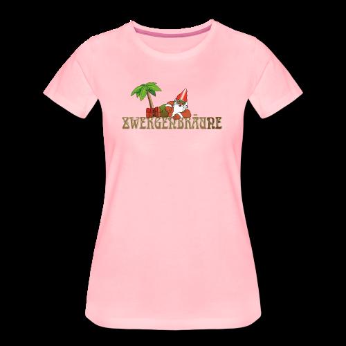 ZWERGENBRÄUNE - Frauen Premium T-Shirt