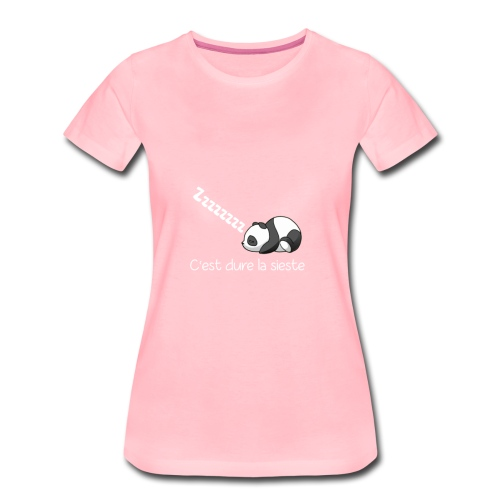 Panda Dodo (Dormir) - T-shirt Premium Femme