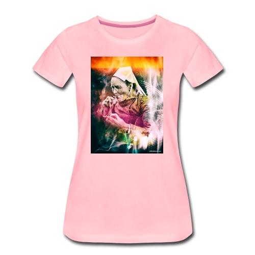 fumeuse bretonne - T-shirt Premium Femme