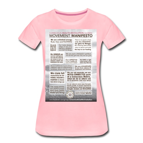 Movement Manifesto - Women's Premium T-Shirt