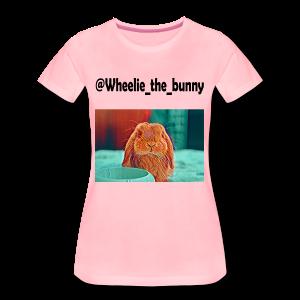 Wheelie the bunny - Maglietta Premium da donna
