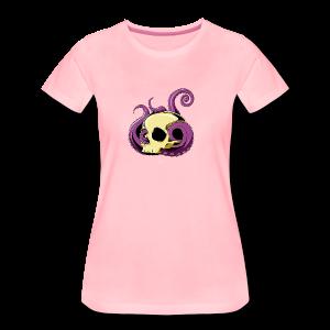 OctoSkull Tee - T-shirt Premium Femme