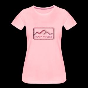 Mount Virginia woman - Frauen Premium T-Shirt
