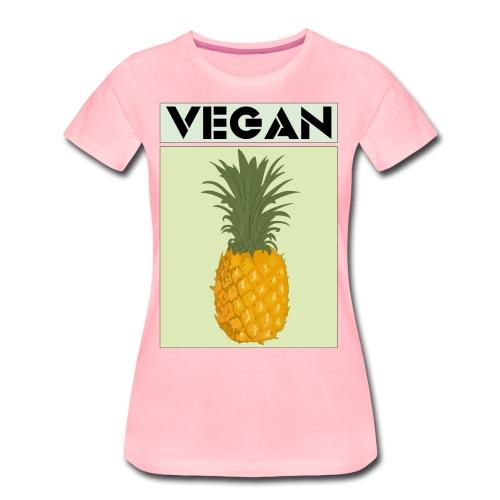VEGAN PINEAPPLE - Women's Premium T-Shirt