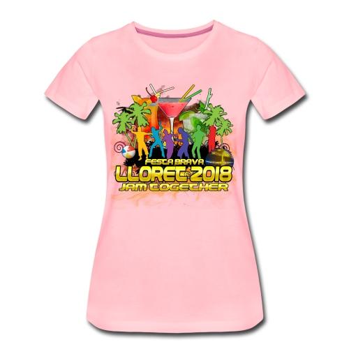 Lloret De Mar 2018 - Frauen Premium T-Shirt
