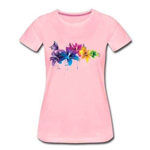 Flowers - Vrouwen Premium T-shirt