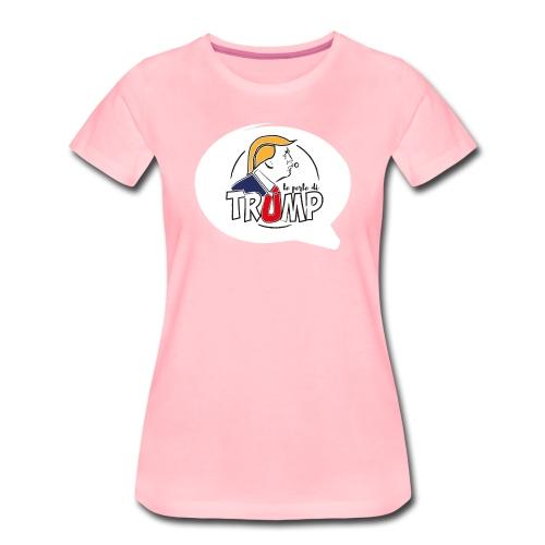 Le perle di Trump Fumetto - Maglietta Premium da donna