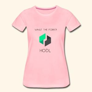 UBIQwhattheforkHodl - Frauen Premium T-Shirt