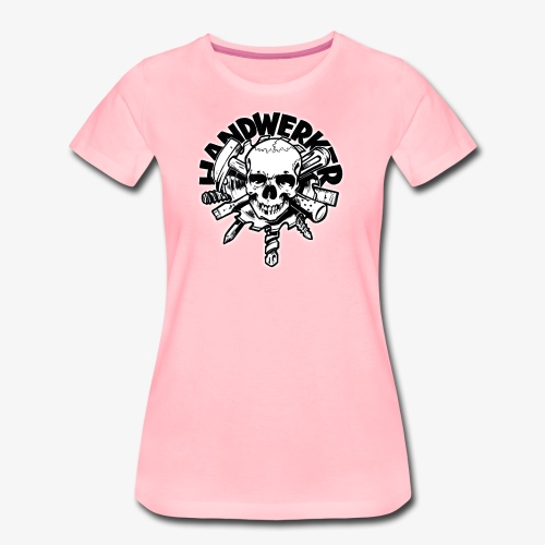 Skull ´n´ Tools - Frauen Premium T-Shirt