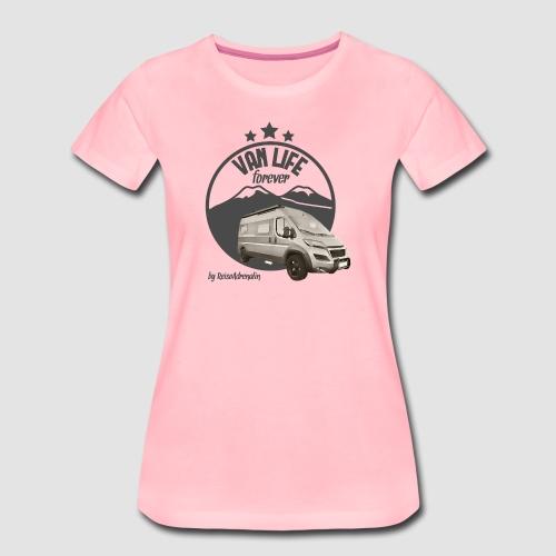 Vanlife forever retro - Frauen Premium T-Shirt