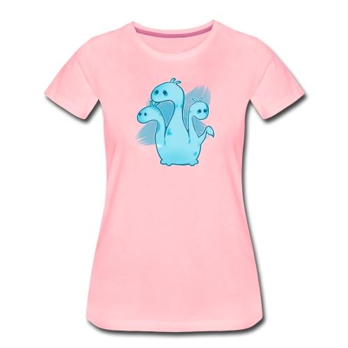 SAD HYDRA - Premium-T-shirt dam