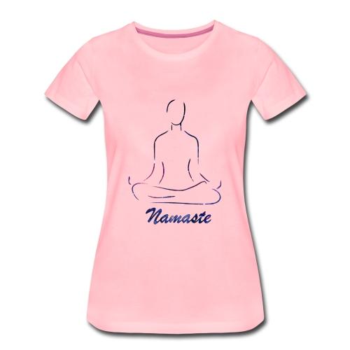 namaste - Camiseta premium mujer