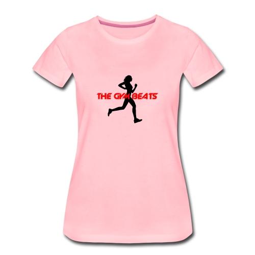 THE GYM BEATS - Music for Sports - Frauen Premium T-Shirt