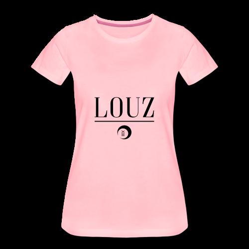 louzwithlogo - Frauen Premium T-Shirt