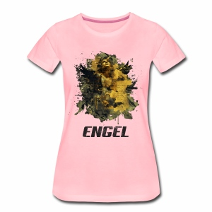 Engel - Golden Grunge - Frauen Premium T-Shirt