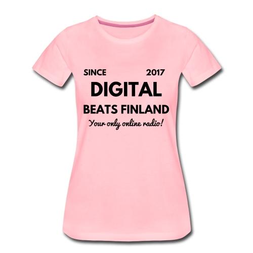 SINCE 2017 Digital Beats Finland - Women's Premium T-Shirt