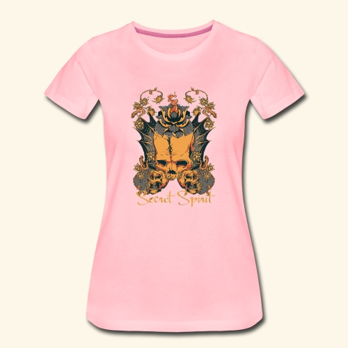 Totenkopf - skull - Frauen Premium T-Shirt