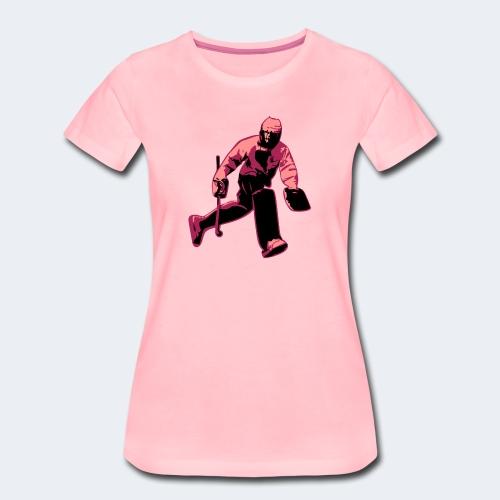 Feldhockey-Torwart - Frauen Premium T-Shirt