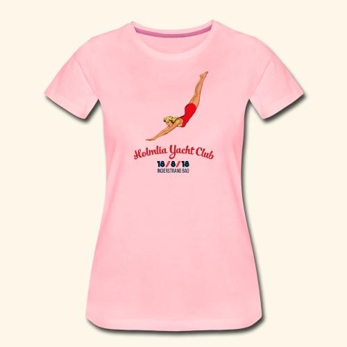 Limited Ed: Stupedame <3 Holmlia Yacht Club - Premium T-skjorte for kvinner