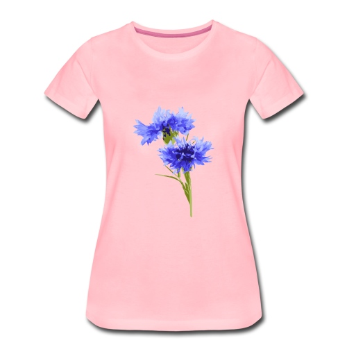 Kornblume - Frauen Premium T-Shirt