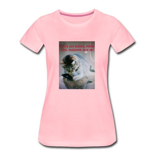 MA FEMME AH le ROYAUME des FEMMES Oui OUI - T-shirt Premium Femme
