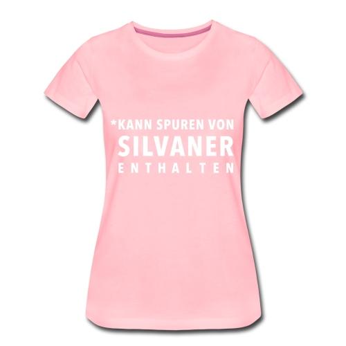 Silvanerliebe - Frauen Premium T-Shirt