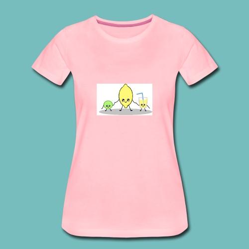 limoncitos kawaii - Camiseta premium mujer