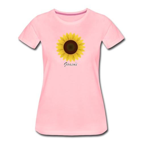 Girasoli_Flower - Frauen Premium T-Shirt