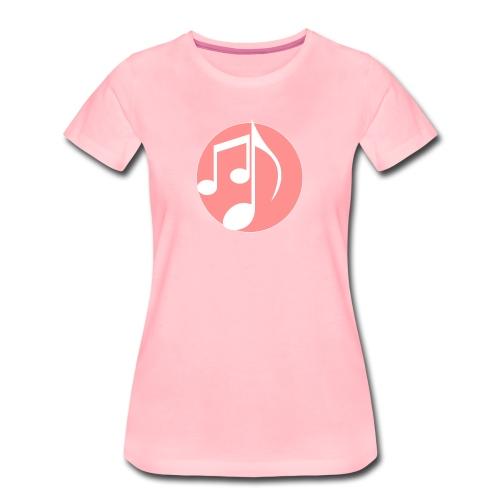 music note: MIGI WEAR - Vrouwen Premium T-shirt