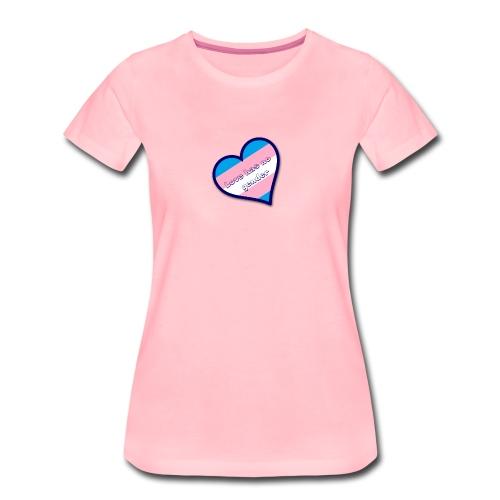 Love has no gender - Vrouwen Premium T-shirt