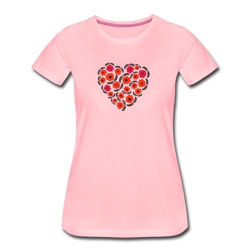 floreale - Maglietta Premium da donna