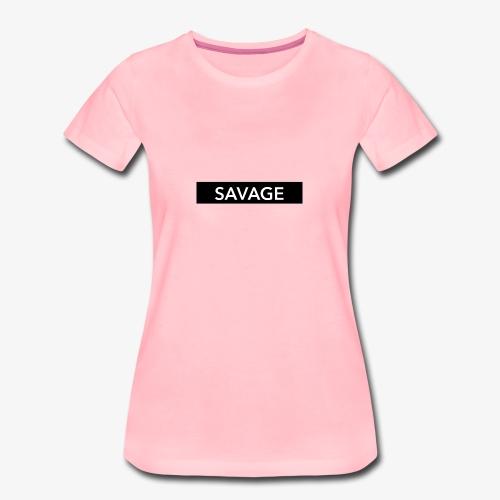 SAVAGE - Vrouwen Premium T-shirt