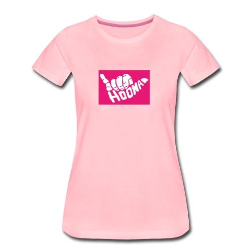 hoona - Frauen Premium T-Shirt