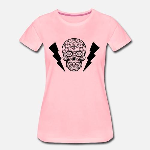 Caveira - T-shirt Premium Femme
