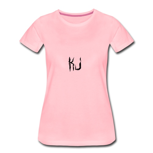 kj logo - Women's Premium T-Shirt