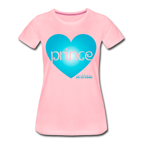 PRINCE - Naisten premium t-paita