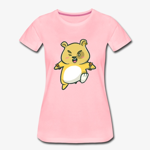 Zorniger Hamster I Geschenkidee - Frauen Premium T-Shirt