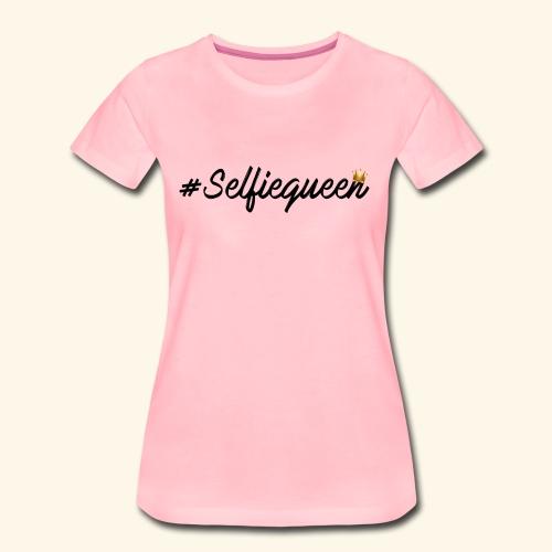 #Selfiequeen - Vrouwen Premium T-shirt