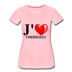 Corbie res - T-shirt Premium Femme