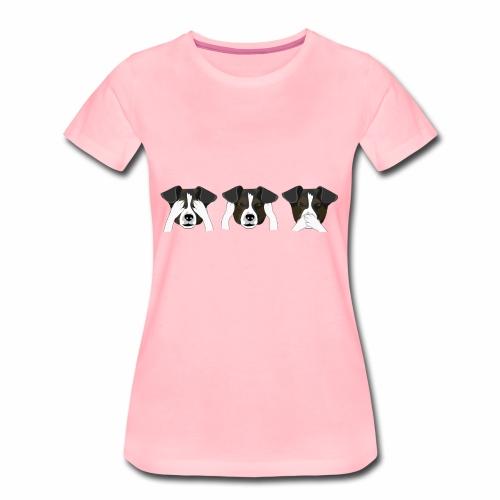 perritos - Camiseta premium mujer