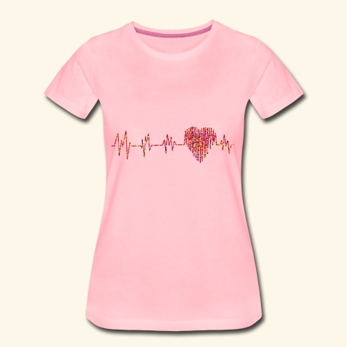 Herzklopfen - Frauen Premium T-Shirt