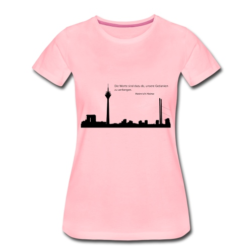 Düsseldorf - Frauen Premium T-Shirt