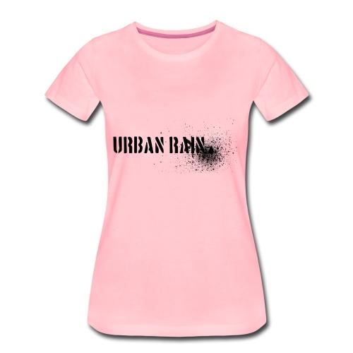 urban rain logo - Frauen Premium T-Shirt