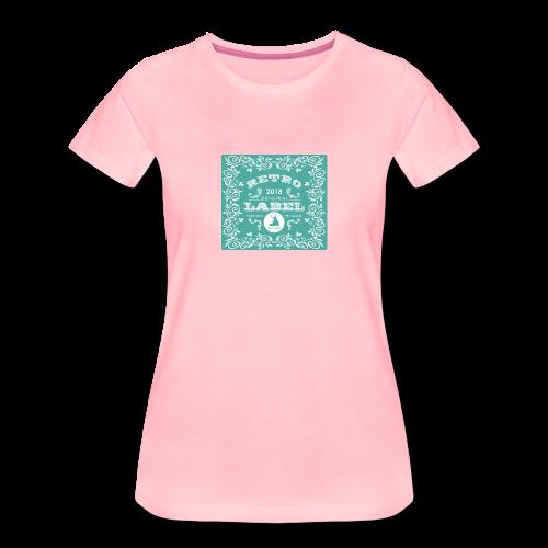 geweihbär RETRO 2018 - Frauen Premium T-Shirt