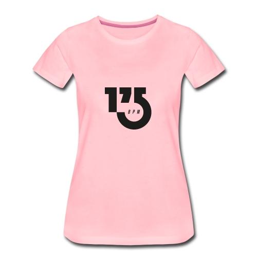 175BPM BIG BLACK - Koszulka damska Premium