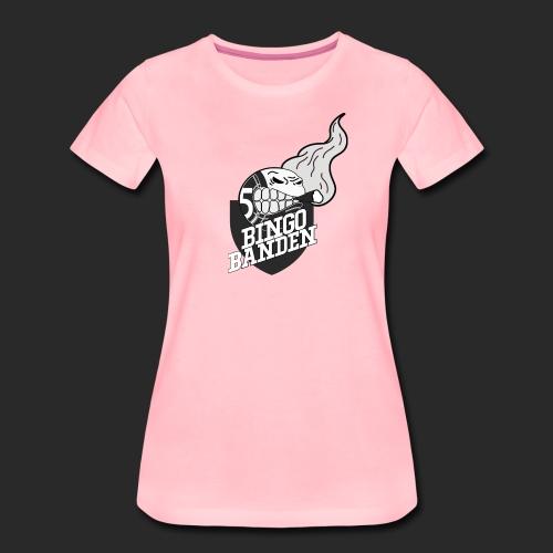 SvartHvit Logo - Premium T-skjorte for kvinner