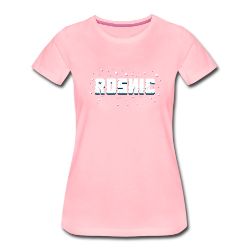 Rosnic Wit - Vrouwen Premium T-shirt