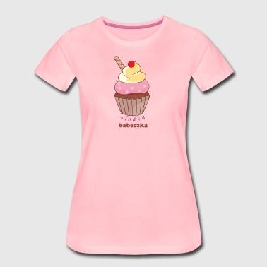 süße Brötchen - Frauen Premium T-Shirt