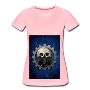 EBM - ELECTRONIC BODY MUSIC - ELECTRO HEAD - Women's Premium T-Shirt